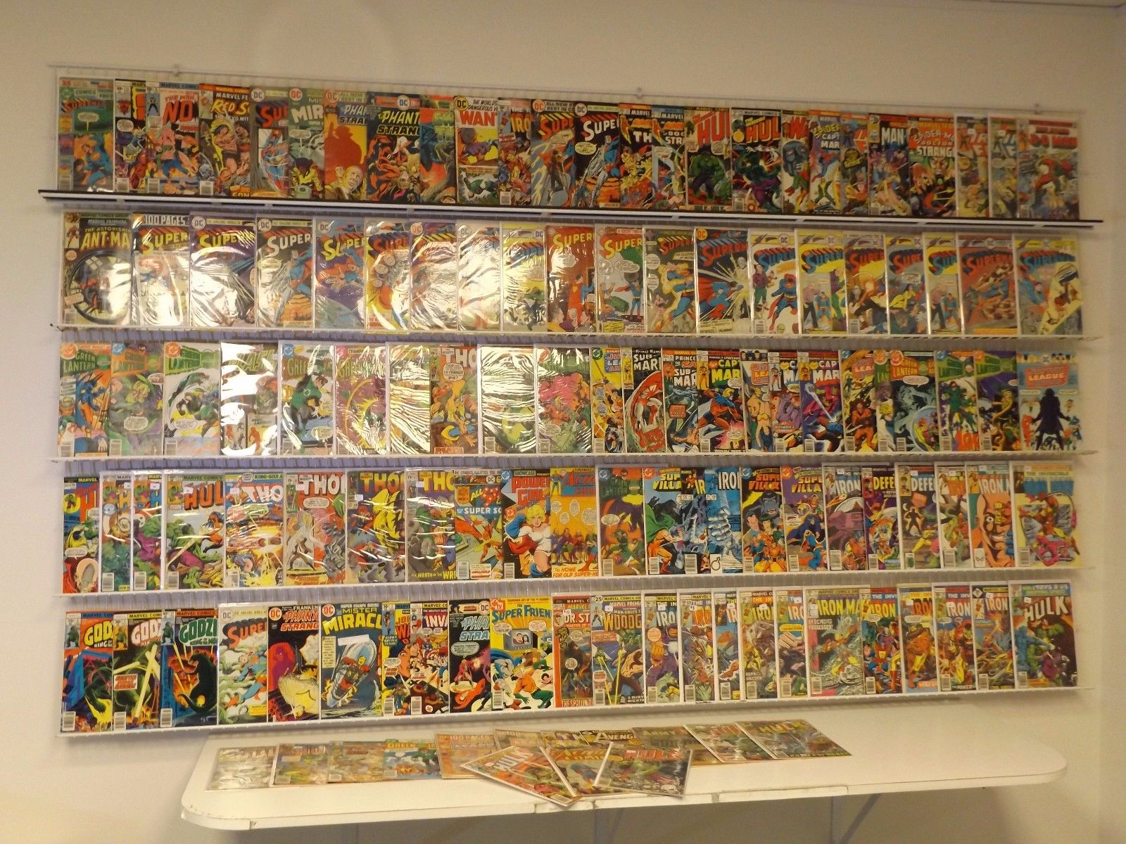 120+ Silver/Bronze comics Thor, Superman, Iron Man, Green Lantern & more