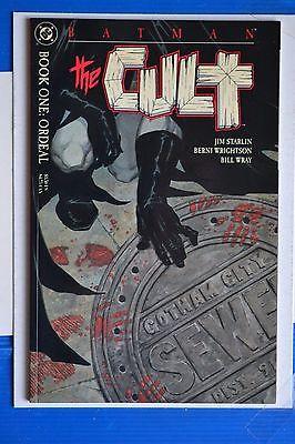 BATMAN THE CULT  # 1-4 :  NEAR MINT : DC COMICS : 1988.