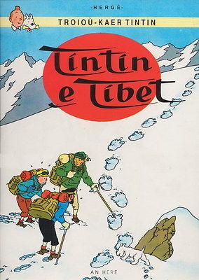 Tintin : Tintin au Tibet en BRETON - An Here - 1994 - 1ère édition