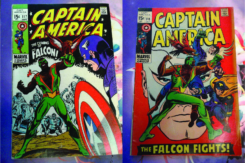 CAPTAIN AMERICA 117 & 118, 1st & 2nd APPEARANCE of FALCON