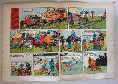 RARE Portuguese Vintage Comics Magazine O PAPAGAIO #220 1939 TINTIN HERGE Angola