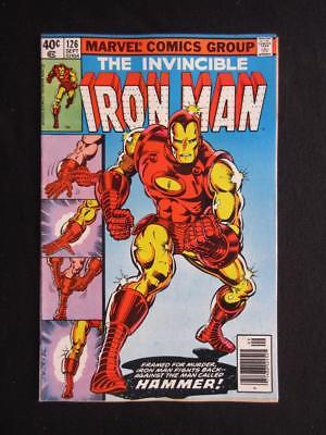 Iron Man #126 MARVEL 1978 - NEAR MINT 9.0 NM - classic Tony Stark/Iron Man cover