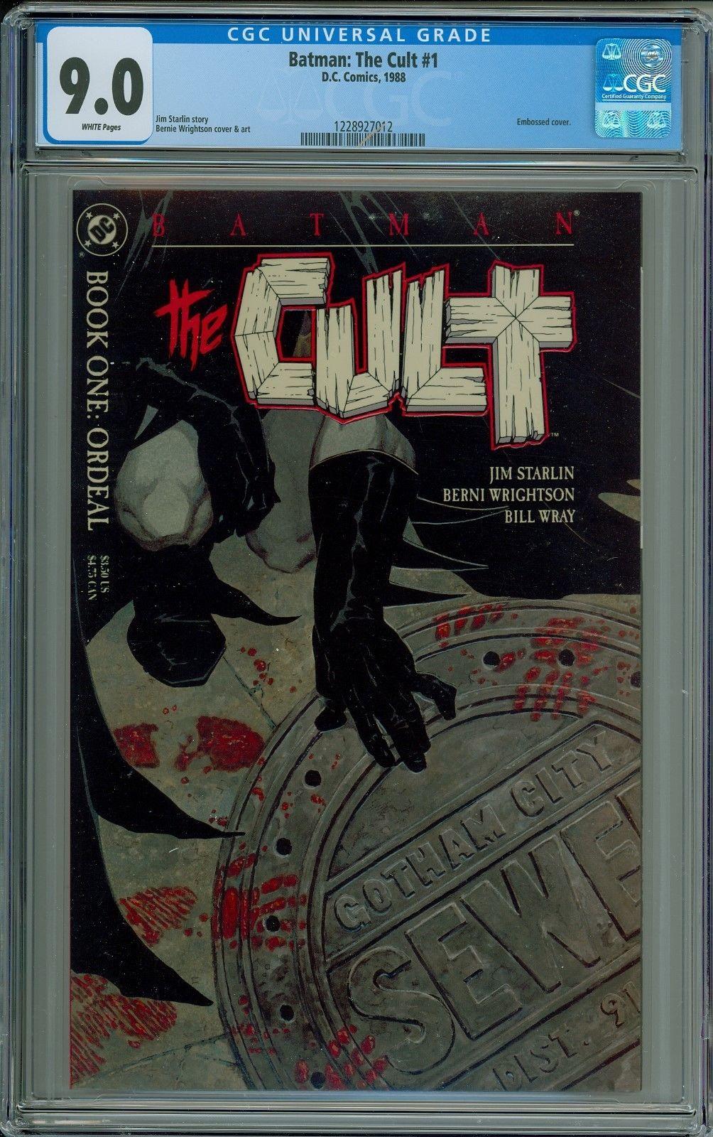 Batman: The Cult 1,2,3,4 CGC