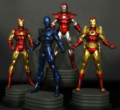 Bowen Invincible Iron Man 4-Pack Statues (Not Koto, Sideshow) #250/300