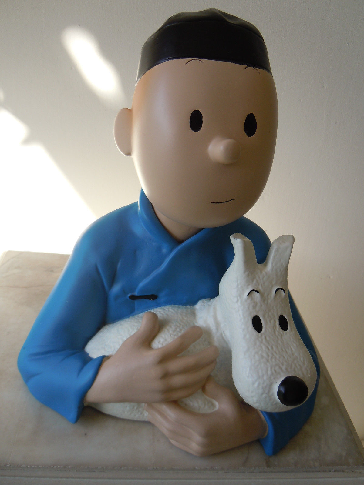 Buste de Tintin Le lotus bleu no leblon-no pixi-très bon état