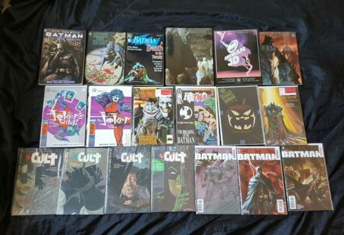BATMAN LOT - HC TPB COMICS - CULT 3D Death in the Family Night Cries #497 +MORE