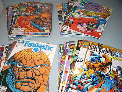 FANTASTIC FOUR LOT of 90 BOOKS NM M 9.6 9.8 -V2 V3 UNPLUGGED UNLIMITED 2099 MORE