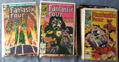 Fantastic Four 232-293,300-348,349-416 • UNLIMITED 1,4,8 • 84 comic LOT • Byrne