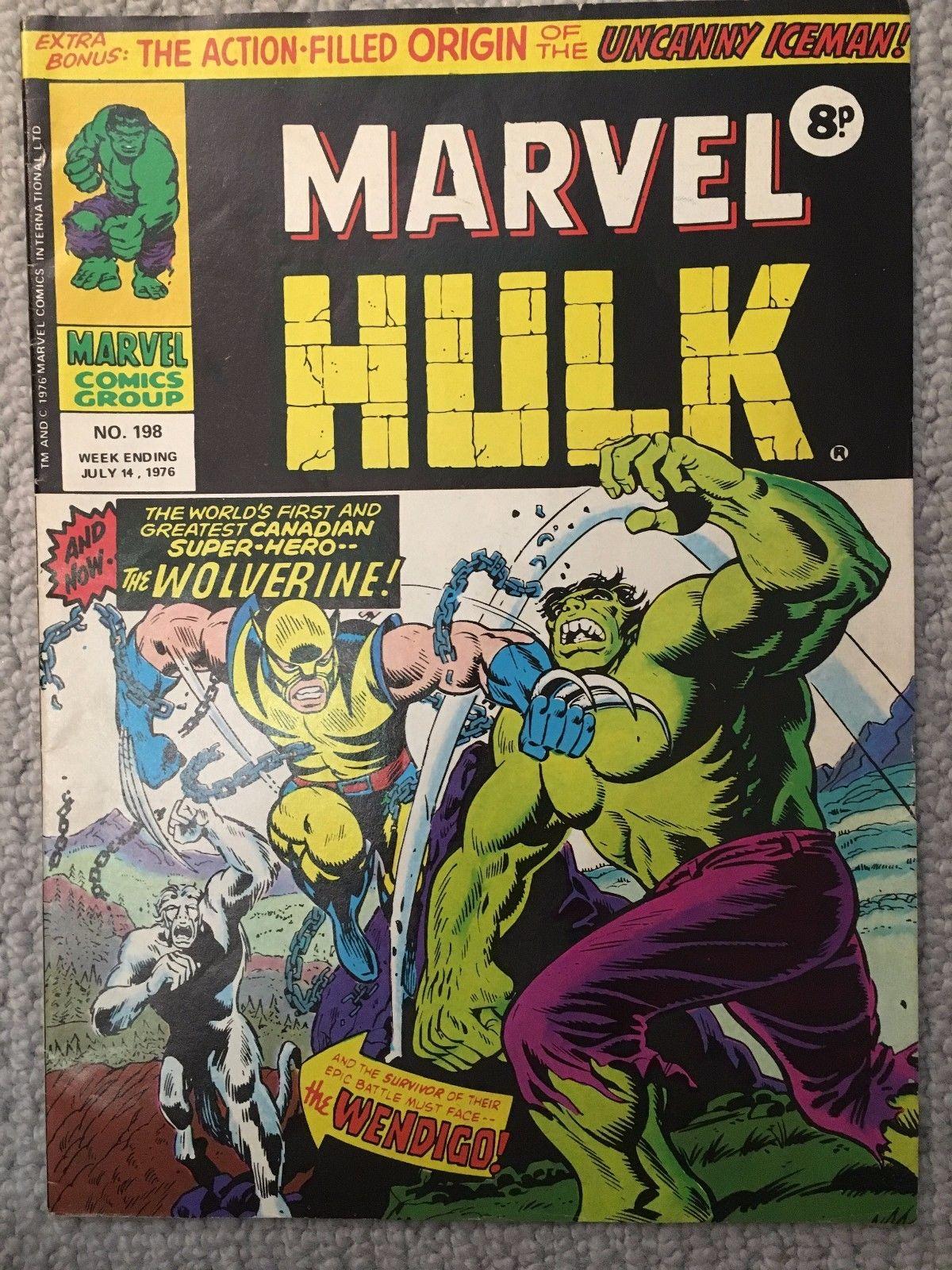 Mighty World of Marvel #198 (Fine) First Wolverine