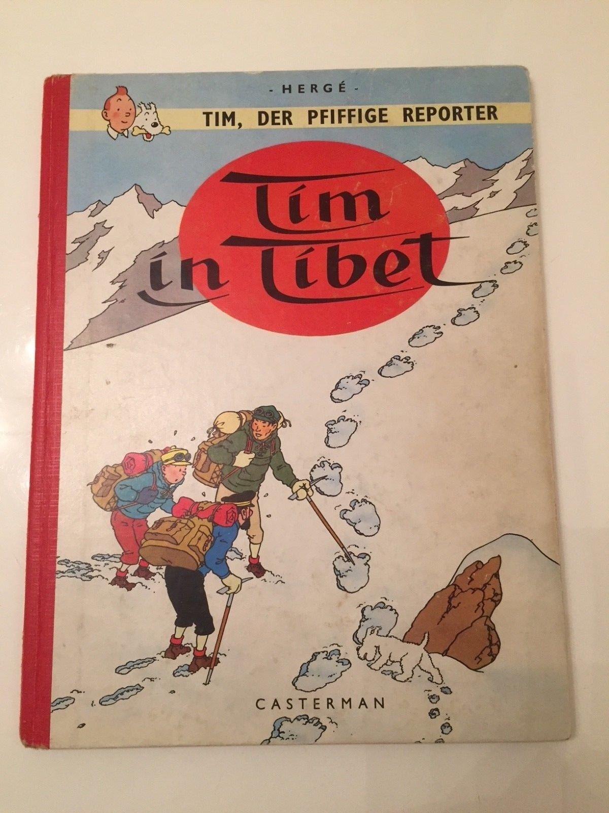 Tim der pfiffige Reporter - Tim in Tibet -   guter Zustand  TINTIN