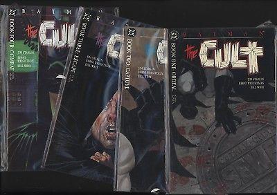 BATMAN: THE CULT #1-4 SET JIM STARLIN AND BERNIE WRIGHTSON. PERFECT NM/M 9.8