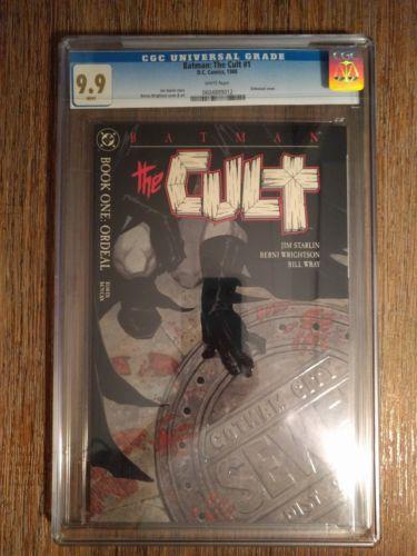 Batman: The Cult #1 (1988, DC) CGC Grade 9.9 MINT