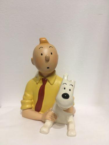 Buste Pixi - Tintin et Milou - Chemise jaune Réf 30005