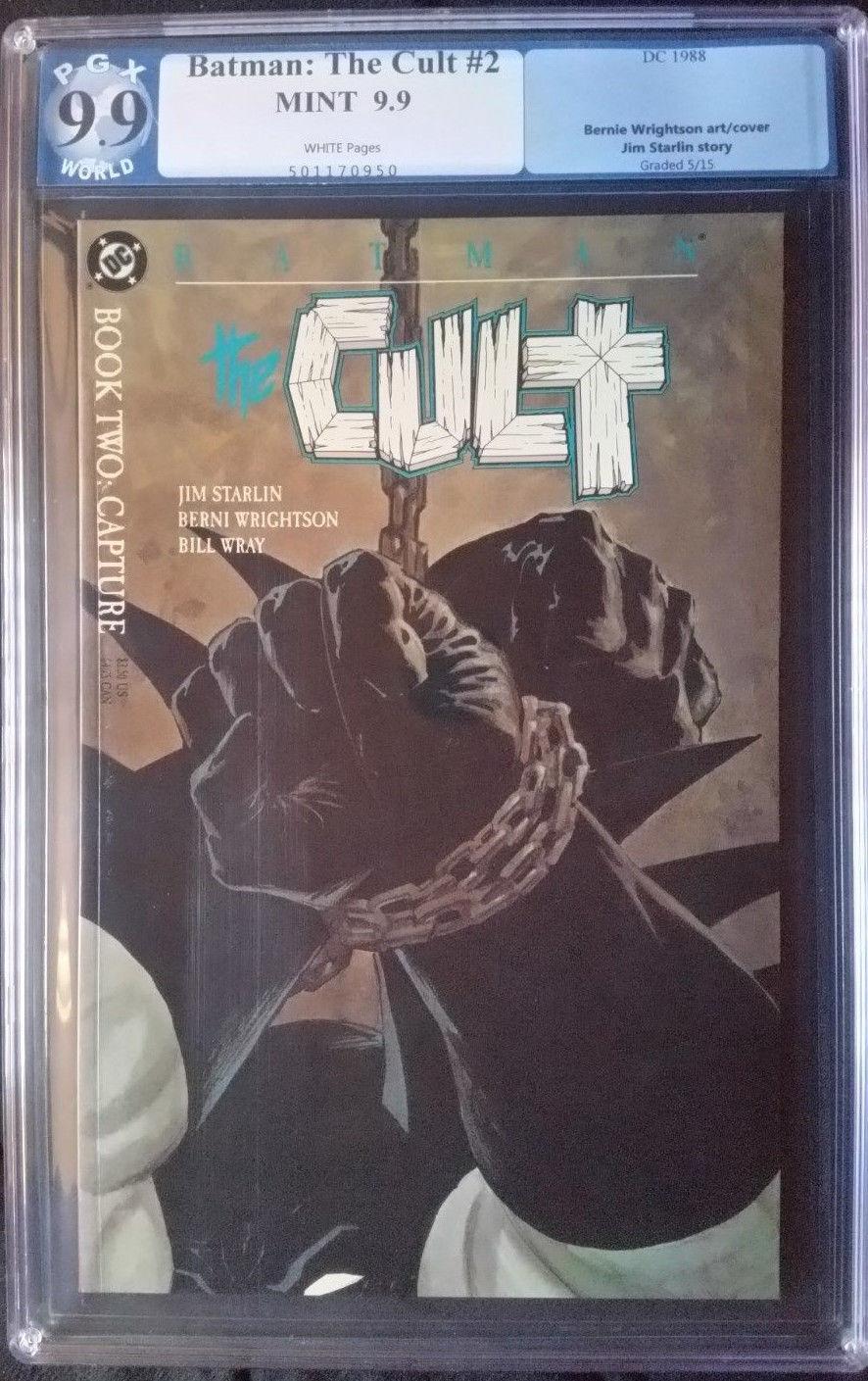 Batman The Cult (1988)  #2  PGX 9.9
