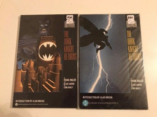 LOT OF 2 BATMAN THE DARK KNIGHT RETURNS TPB ==  NM 1ST PRINT MILLER 1986