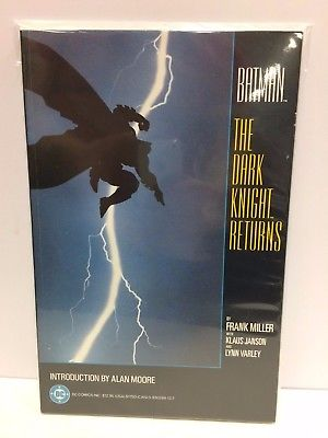 Batman the Dark Knight Returns TPB Graphic Novel DC 1986