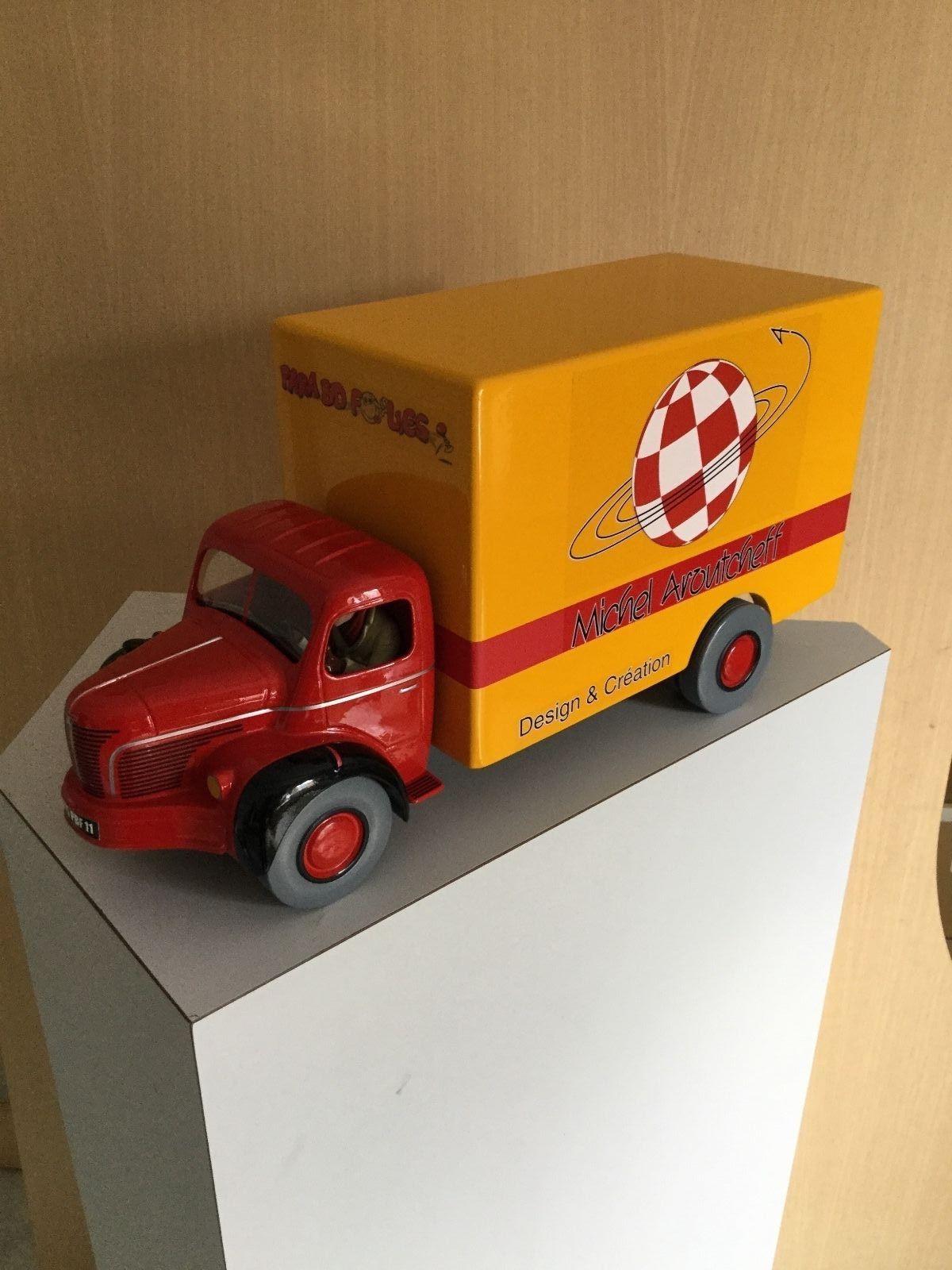 Le camion vroup  special par Aroutcheff N0 Leblon fariboles tintin Kuifje