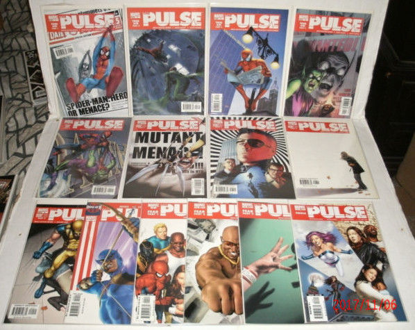 The Pulse 14 Issue Lot # 1 - 14 NM 9.4 Full Run Marvel Comics Jessica Jones Cage