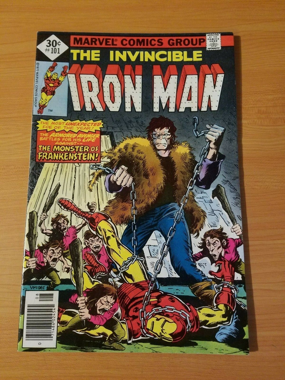 The Invincible Iron Man #101   NEAR MINT NM   (1977, Marvel Comics)