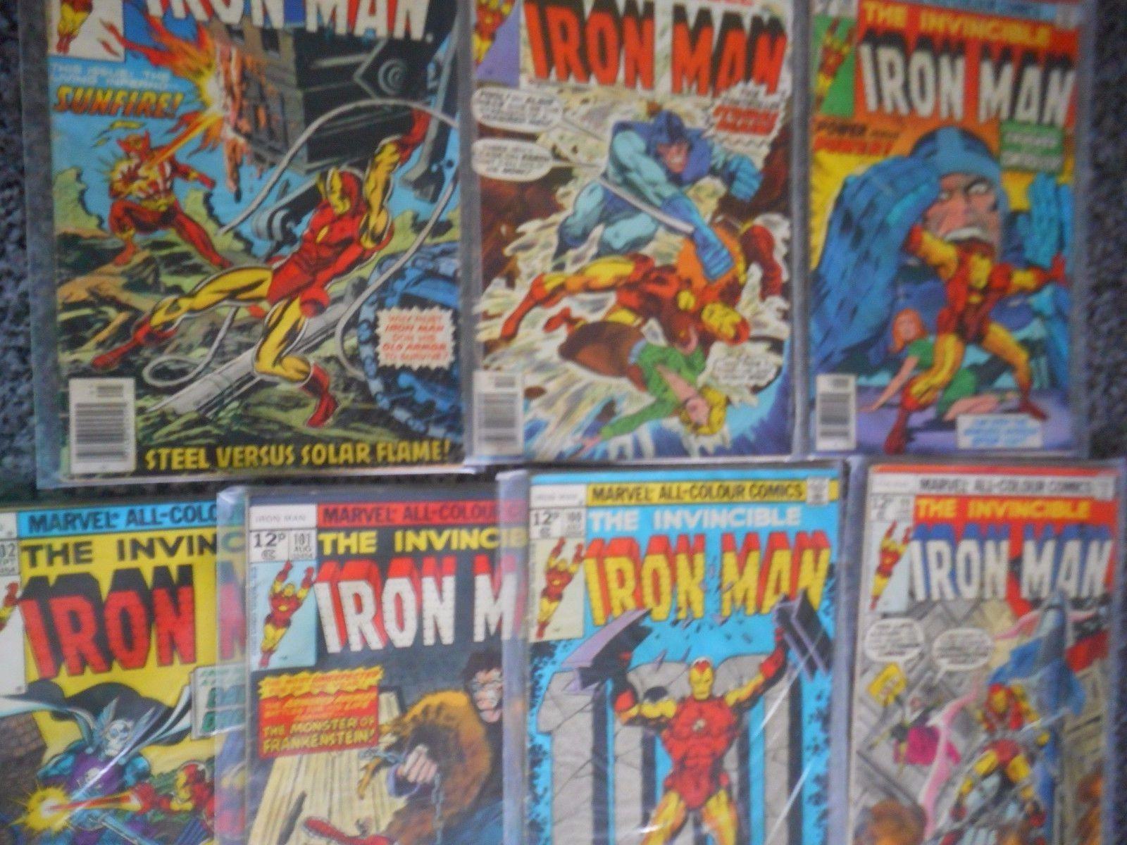 IRON MAN COMICS 90 -91 -98 -99 -100 -101 -102