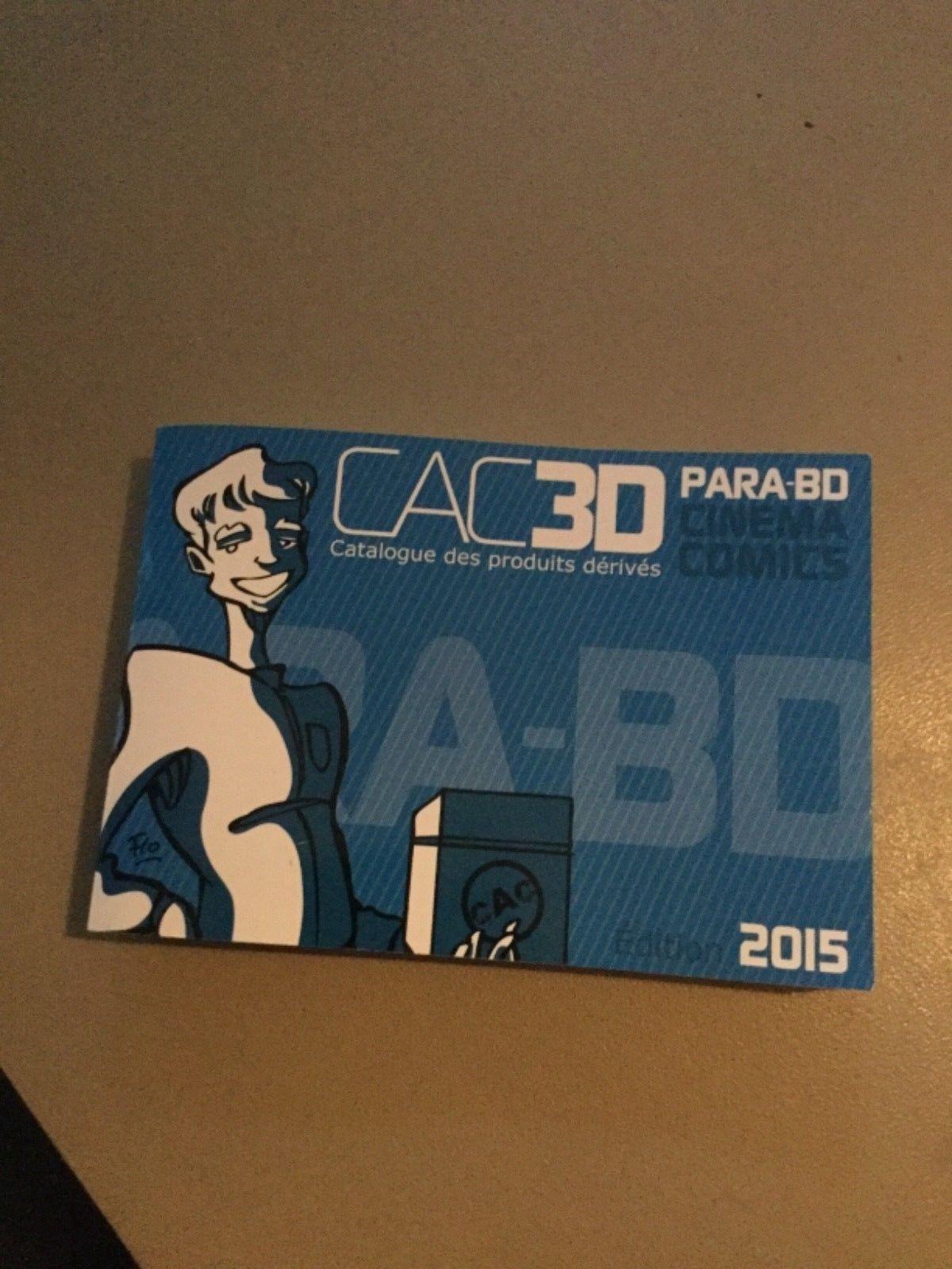 Catalogue CAC3D para bd 2015 Avec : TINTIN / Kuifje Aroutcheff Leblon fariboles