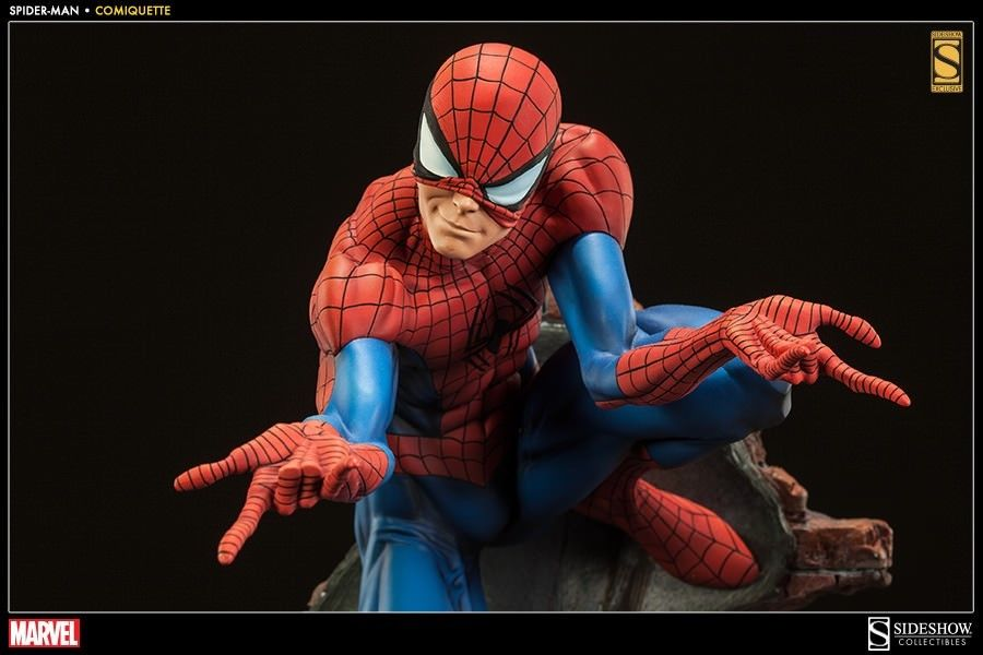 Spider-Man Sideshow Statue Exclusive Edition Marvel Comics DC AVENGERS