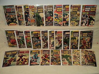 Tales of Suspense 63-99 (miss.8bks) SET #63, #65, #75, #98 Marvel Comics (9645)