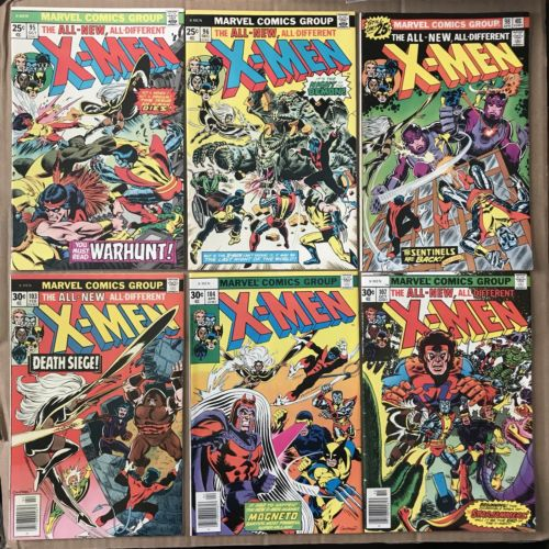 Uncanny X-Men Lot of 36 VF 95 96 98 103 104 107 110 113 115 116 118 121-126 MORE