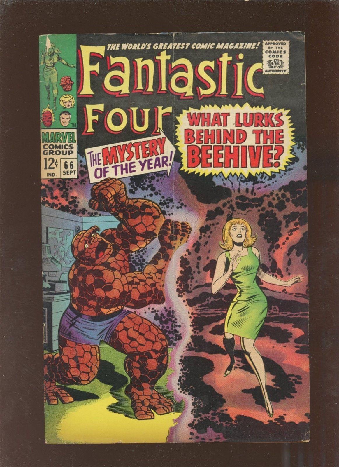 Fantastic Four 66 VG 4.0 * 1 Book Lot * 1st Him [Adam Warlock] Cameo
