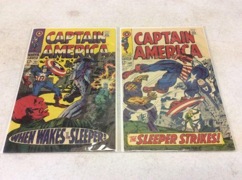 Captain America Silver Age Lot #101-108,110-116,118,119,121