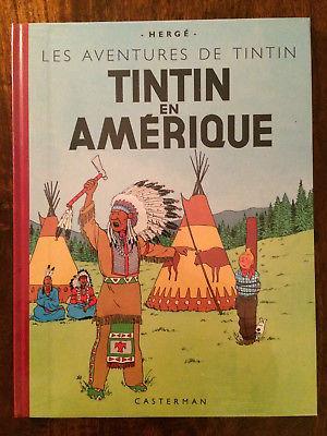 TINTIN EN AMERIQUE - Fac-similé couleurs 1946 - Edition 2004