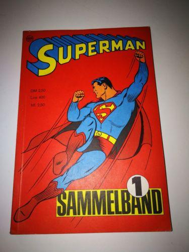 Superman Sammelband Heft 1 ,1966 Zustand 1-2