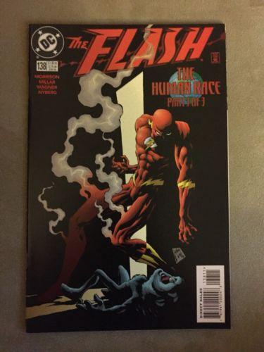 The Flash 138 1st Appearance Black Flash NM