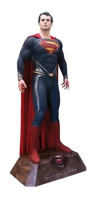 SUPERMAN MAN OF STEEL * 1:1 REPLICA PROP FULL-LIFE-SIZE STATUE / FIGURE * OXMOX