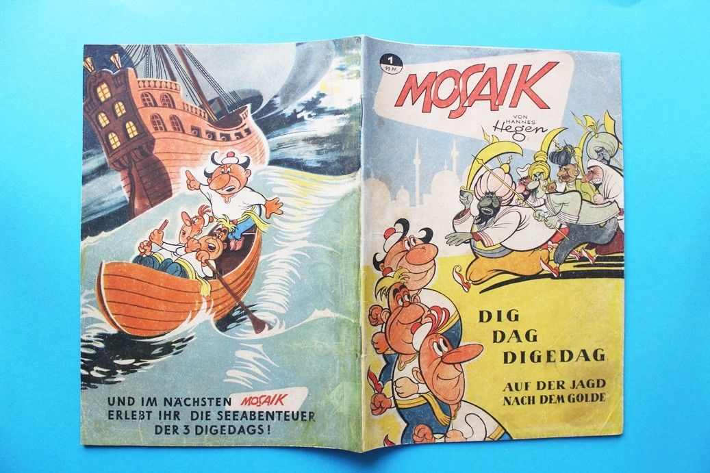 Mosaik Sammlung komplett Nr. 1 bis 229 Original kein Reprint