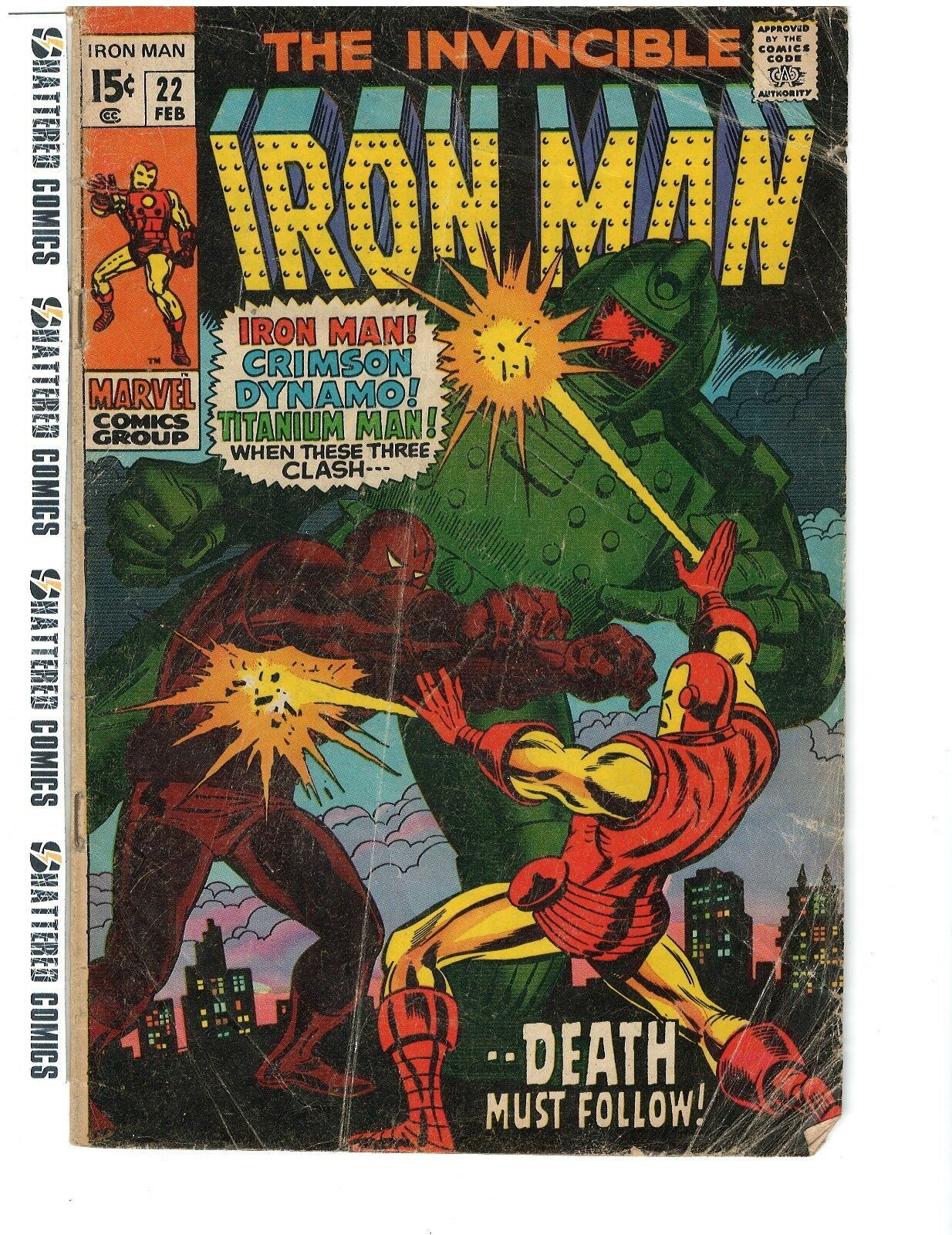 The Invincible Iron Man #22 Free Ship