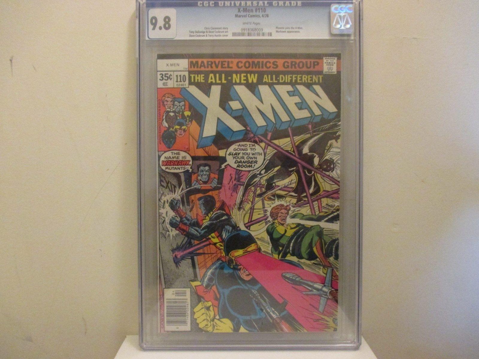 Uncanny X-Men from 1978 (1963 1st Series) #110 CGC 9.8 0918368009 Cockrum art