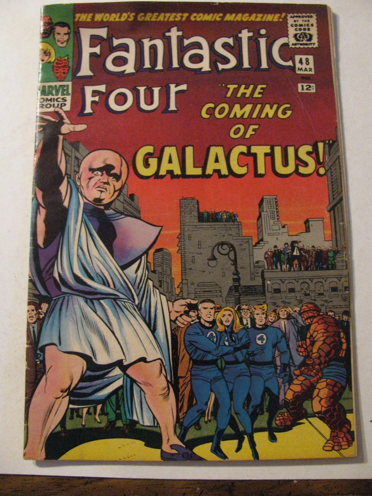 FANTASTIC FOUR #48 Silver Age Comic Book Marvel 1965 GALACTUS SURFER FIRST APP.