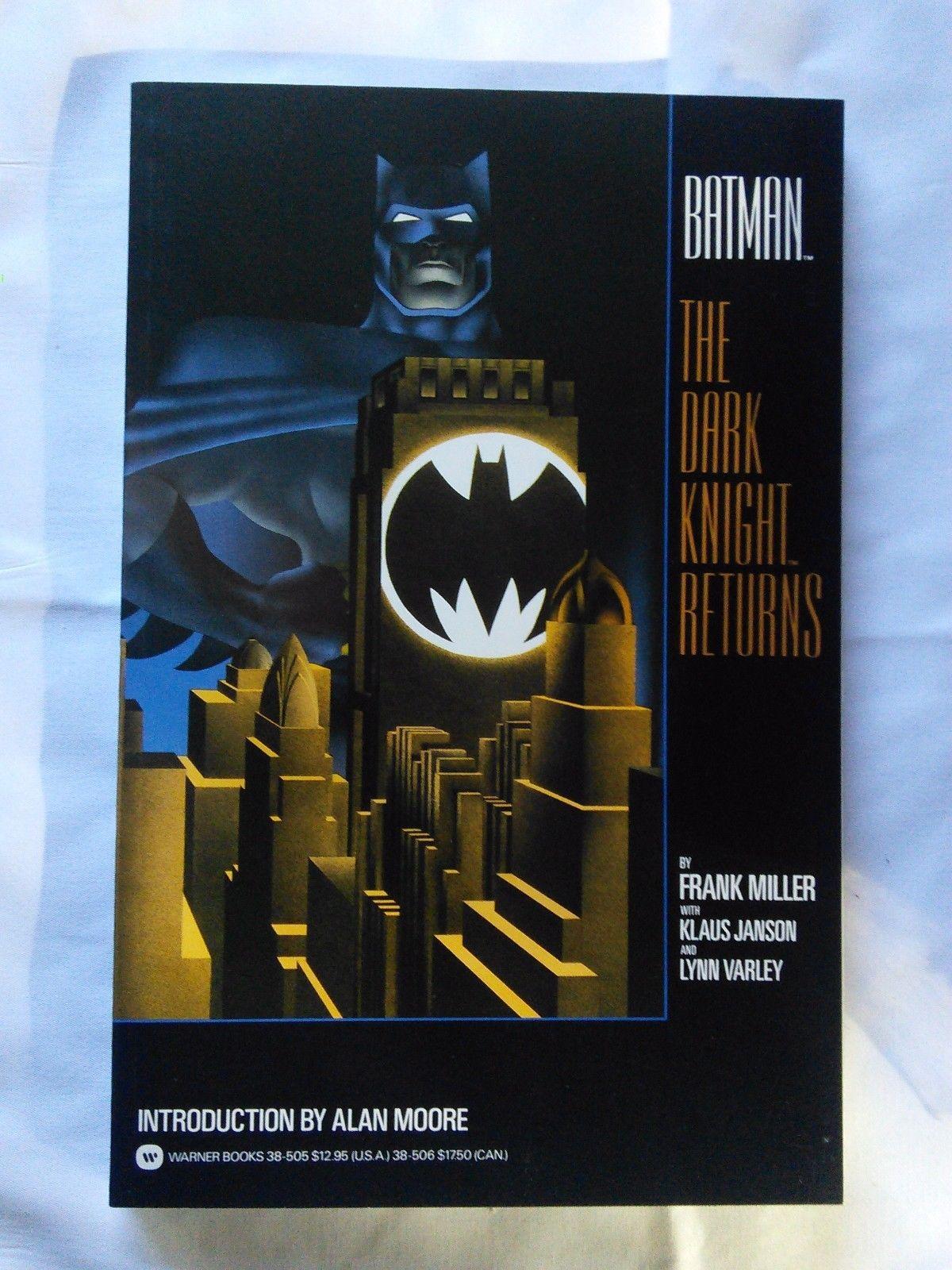 Batman The Dark Knight Returns TPB, first print, NM condition, Frank Miller