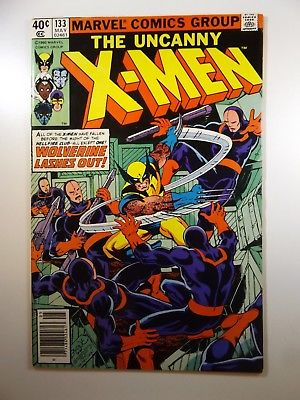 """The Uncanny X-Men #133 """"Wolverine Lashes Out"""" VF-NM Condition Claremont/Byrne"""
