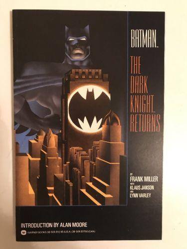BATMAN THE DARK KNIGHT RETURNS TPB ==  NM 1ST PRINT WARNER BOOKS 1986