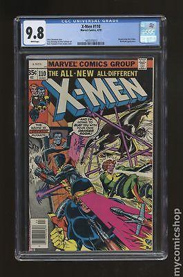 Uncanny X-Men (1st Series) #110 1978 CGC 9.8 1497215012