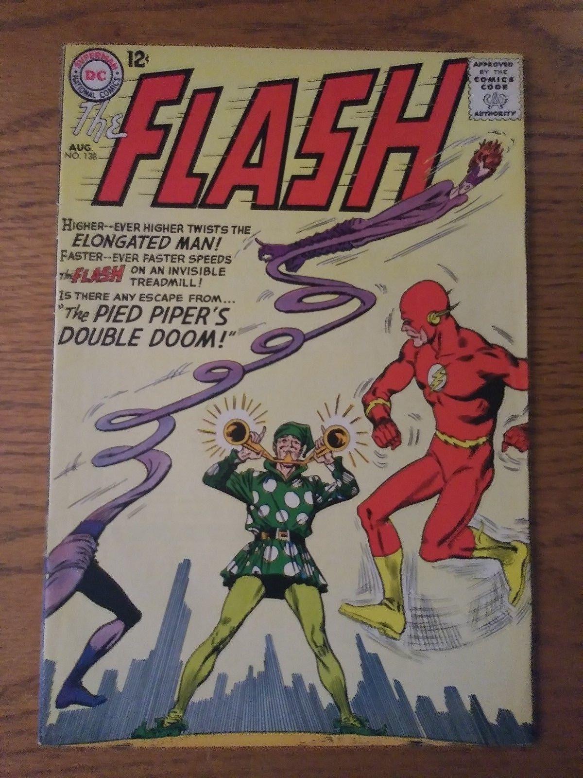 The Flash #138 (Aug 1963, DC) High Grade