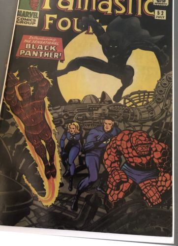 ????????FANTASTIC FOUR 52 1st Black Panther 2nd Print 2006????????9.4 Clean Book