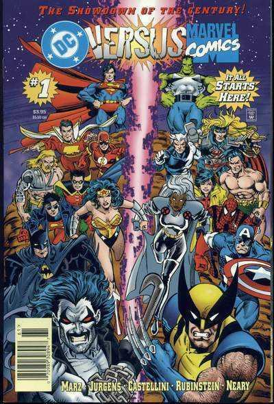 DC Versus Marvel/Marvel Versus DC (1996) #'s 1 2 3 4 Complete VF/NM-NM Set