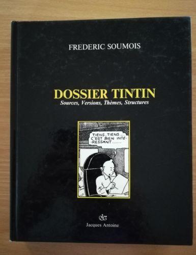 dossier Tintin Frédéric Soumois