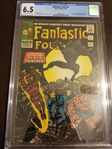 Fantastic Four #52 First appearance of Black Panther  CGC 6.5 Avengers