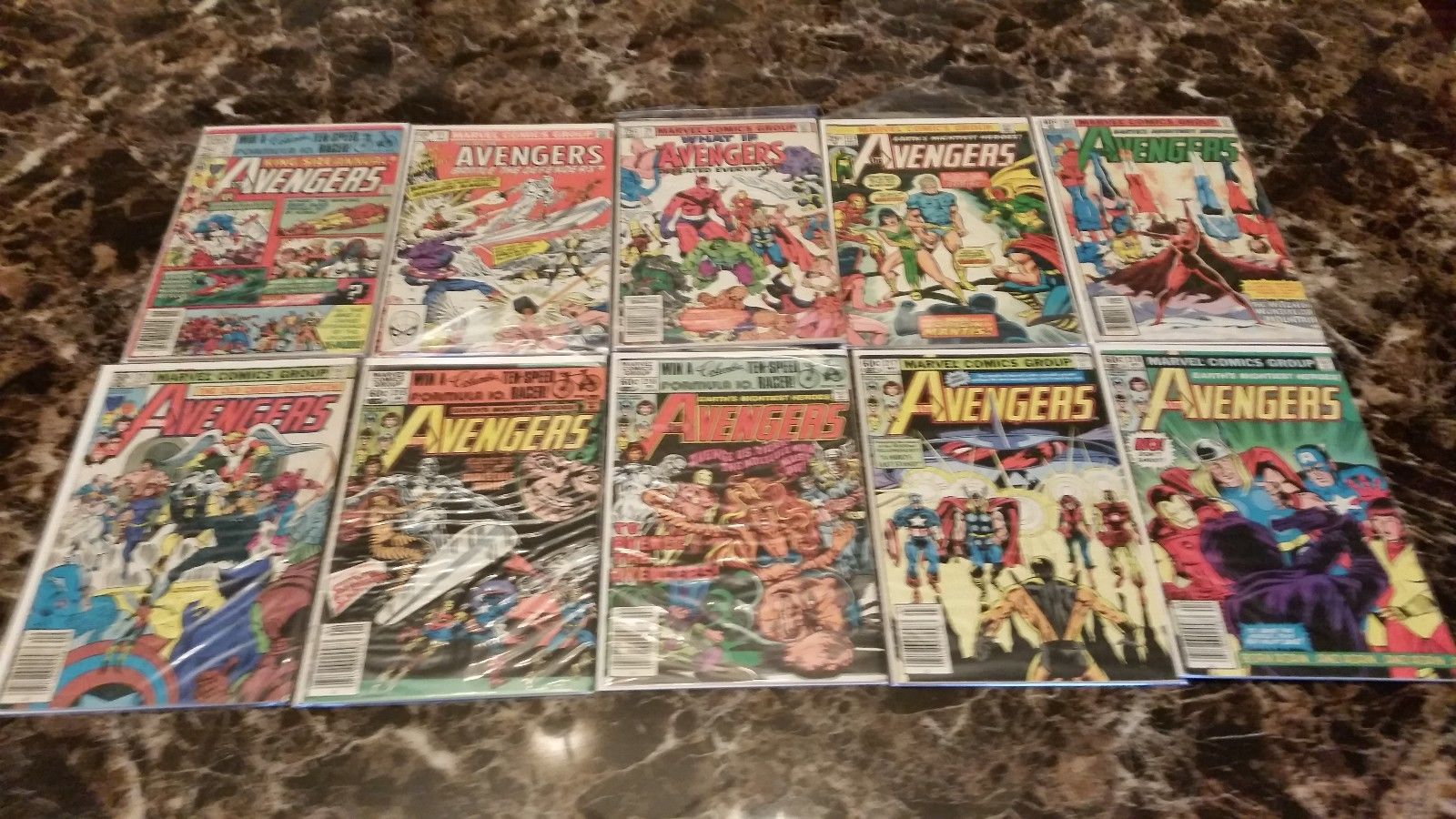 Lot of 80 Avengers, New Avengers and Dark Avengers 1981 and up