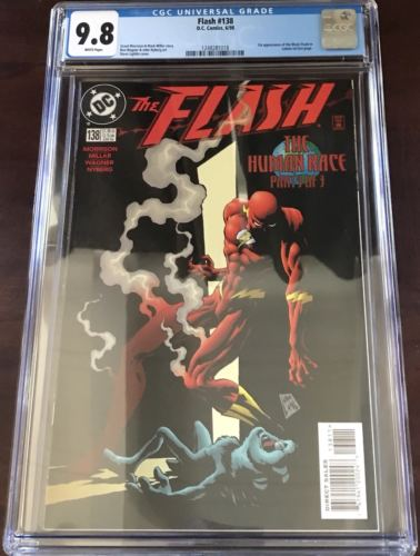 The Flash #138 (6/1998), CGC 9.8 w/white pages,