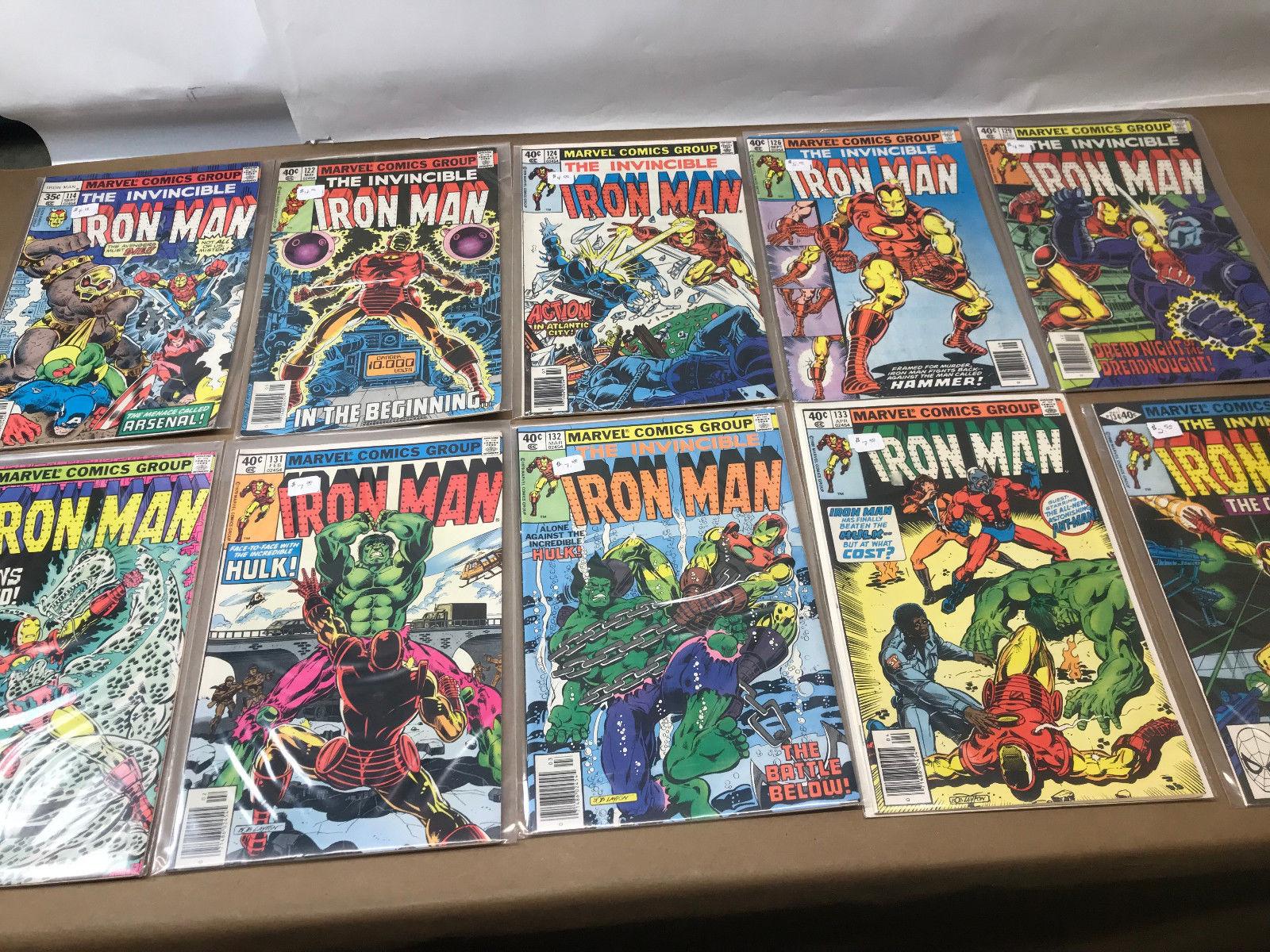 Iron Man Comic lot of 13: 135 136 137 138 139 140 141 143 144 145 146 147 148